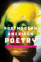 Cover image for Postmodern American poetry : a Norton anthology