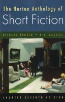 Cover image for The Norton anthology of short fiction