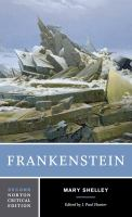 Cover image for Frankenstein : the 1818 text, contexts, criticism