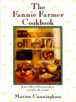Cover image for The Fannie Farmer cookbook