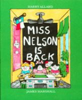 Cover image for Miss Nelson is back