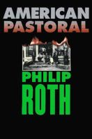 Cover image for American pastoral