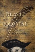 Cover image for Death of a colonial