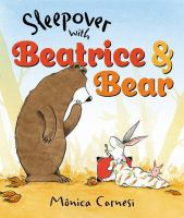 Cover image for Sleepover with Beatrice & Bear