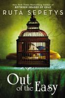 Cover image for Out of the Easy