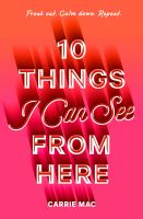 Cover image for 10 things I can see from here