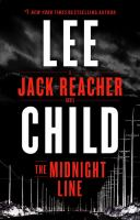 Cover image for The midnight line : a Jack Reacher novel