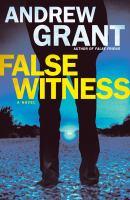 Cover image for False witness : a novel