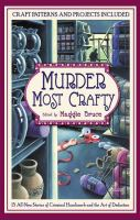 Cover image for Murder most crafty