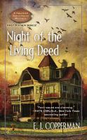 Cover image for Night of the living deed