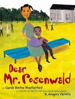 Cover image for Dear Mr. Rosenwald