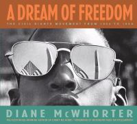 Cover image for A dream of freedom : the civil rights movement from 1954 to 1968