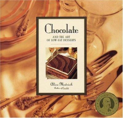 Cover image for Chocolate and the art of low-fat desserts