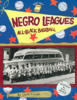 Cover image for Negro leagues : all-Black baseball