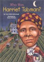 Cover image for Who was Harriet Tubman?