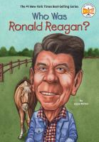Cover image for Who was Ronald Reagan?