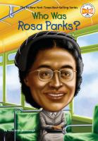 Cover image for Who was Rosa Parks?