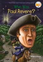 Cover image for Who was Paul Revere?