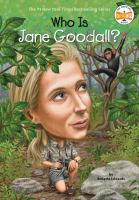 Cover image for Who is Jane Goodall?