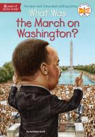 Cover image for What was the March on Washington?