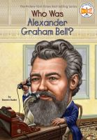 Cover image for Who was Alexander Graham Bell?