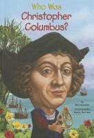 Cover image for Who was Christopher Columbus?