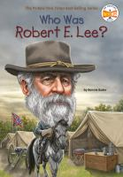 Cover image for Who was Robert E. Lee?