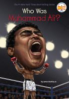 Cover image for Who is Muhammad Ali?