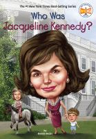 Cover image for Who was Jacqueline Kennedy?
