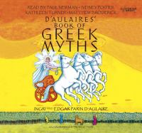 Cover image for D'Aulaires book of Greek myths