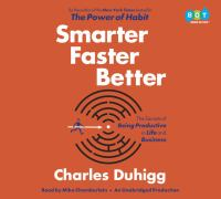 Cover image for Smarter faster better : the secrets of being productive in life and business