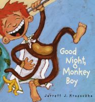 Cover image for Good night, Monkey Boy