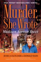 Cover image for Madison Avenue shoot : a Murder, she wrote mystery