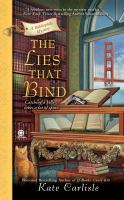Cover image for The lies that bind