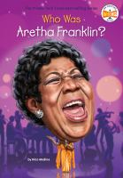 Cover image for Who is Aretha Franklin?