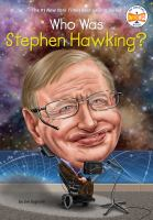 Cover image for Who was Stephen Hawking?