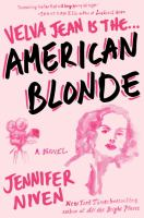 Cover image for American blonde