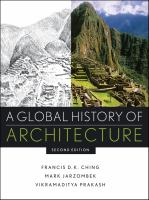 Cover image for A global history of architecture
