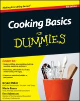 Cover image for Cooking basics for dummies