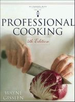 Cover image for Professional cooking