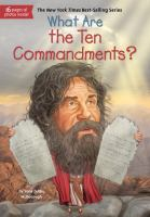 Cover image for What are the Ten Commandments?