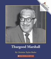 Cover image for Thurgood Marshall