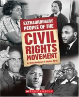 Cover image for Extraordinary people of the civil rights movement