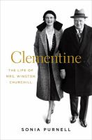 Cover image for Clementine : the life of Mrs. Winston Churchill