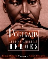 Cover image for Portraits of African-American heroes