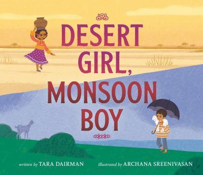 Cover image for Desert girl, monsoon boy