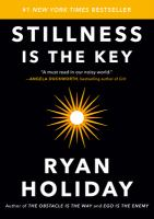 Cover image for Stillness is the key