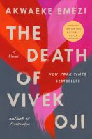 Cover image for The death of Vivek Oji : a novel