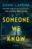 Cover image for Someone we know : a novel