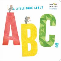 Cover image for A little book about ABCs